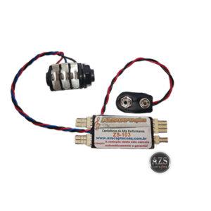 Placa Original Pré-Amplificador Modelo ZS-103