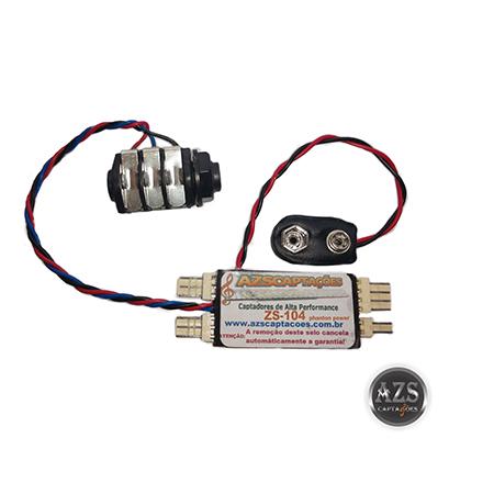 Placa Original Pré-Amplificador Modelo ZS-104