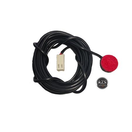 Chicote Microfone Dos Baixos Completo Modelo ZS-106 Com 1 Microfone