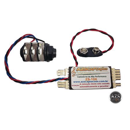 Placa Original Pré-Amplificador Modelo ZS-106